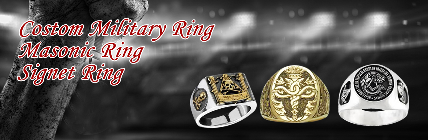 首页大图1张4|Custom Military Ring / Masonic Ring/Signet Ring|A symbol of the glory and achievement of your team, come and creat a unique ring with us. You can have your own logo on the ring.